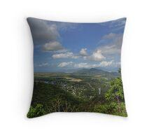 Coastal view - Far North Queensland Throw Pillow