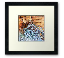 Jesus & The Miraculous Catch Of Fish (153 fish) Framed Print