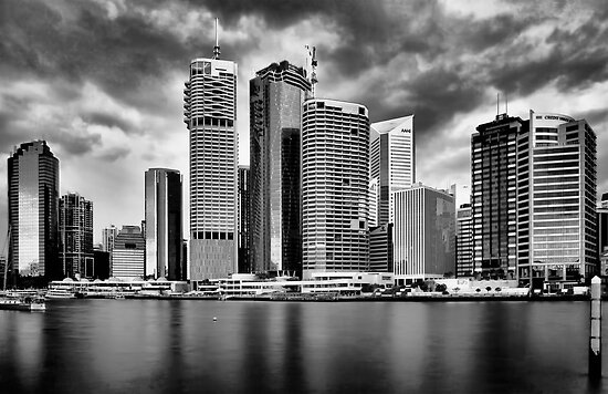 City of Brisbane by Kym Howard