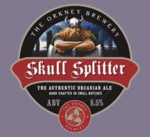 Skull Splitter Beer Label Kids Clothes