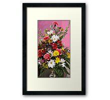 Flowers for Janice Framed Print