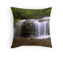 Burden Falls, Shawnee Forest Image 2 Throw Pillow