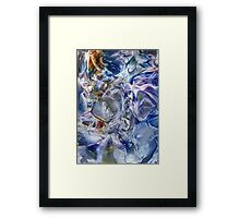 Morphic fields of the mysterious mind Framed Print