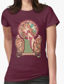 Peach Nouveau Womens Fitted T-Shirt