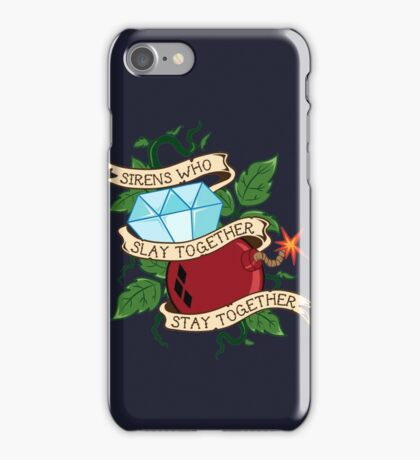 Slay Together, Stay Together - Gotham City Sirens Clean iPhone Case/Skin