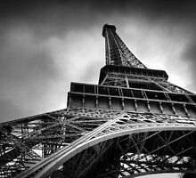 Eiffel Tower, Paris, France by David Kent