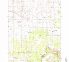 USGS Topo Map Oregon Soldiers Cap 281563 1983 24000 by wetdryvac