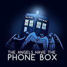 The Angels Have the Phone Box  by MeganLara