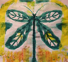 Dragon Fly Print by coppertrees