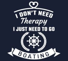 Boating  Therapy by Louisleo