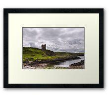 Gylen Castle Framed Print