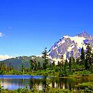 """""""Cascades Spring"""" by Lynn Bawden"""