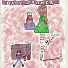 BABY SHOWER MOM by Noelia Garcia