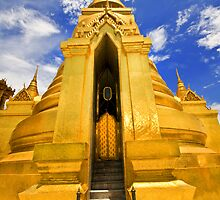 Golden Stupa by Charuhas  Images
