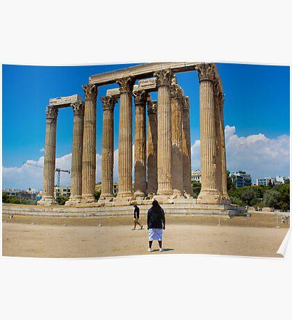 Temple Of Zeus Onlooker Poster