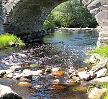 Hipson Creek under the Old Stone Bridge by RevJoc