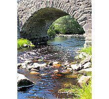Hipson Creek under the Old Stone Bridge Photographic Print