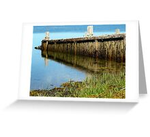 Boat Launch, Pubnico Harbour Greeting Card