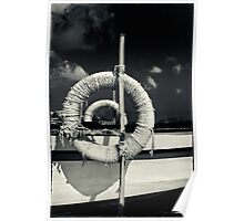 Ropes on a boat Poster