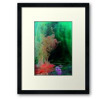 Mystical figure Framed Print
