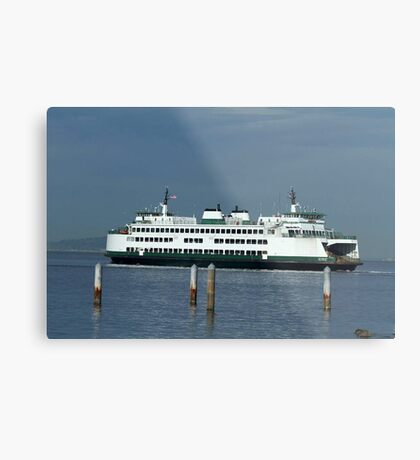 "Washington State Ferry ""Kitsap"" Metal Print"