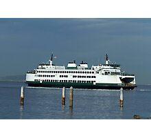 "Washington State Ferry ""Kitsap"" Photographic Print"
