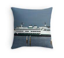 """Washington State Ferry """"Kitsap"""" Throw Pillow"""