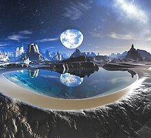 The Earth Pool by SpinningAngel
