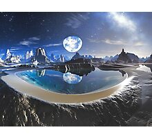 The Earth Pool Photographic Print