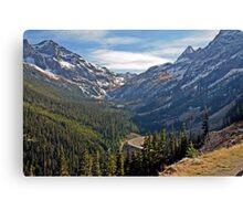 Washington Pass, North Cascades, Washington State Canvas Print