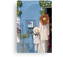 Boutique in Kefalonia, Greece Canvas Print