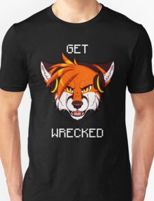 GET WRECKED - Fox Unisex T-Shirt
