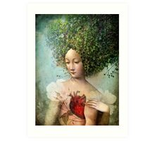 The Day I lost my Heart Art Print