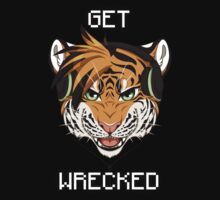 GET WRECKED - Tiger by 8Bit-Paws