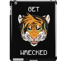 GET WRECKED - Tiger iPad Case/Skin