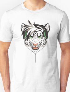 Headphone White Tiger T-Shirt