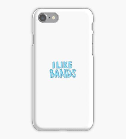 'I Like Bands' iPhone Case/Skin