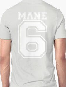 Team Mane 6 - Backprint T-Shirt