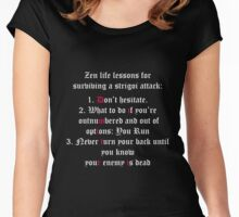 Vampire Academy quote Women's Fitted Scoop T-Shirt