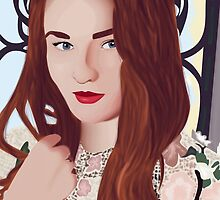 Sophie Turner by mpissott