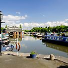 Shobnall Marina, Burton on Trent by Rod Johnson