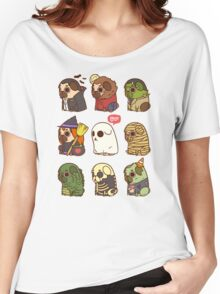 Puglie Halloween Women's Relaxed Fit T-Shirt