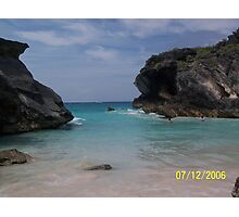 Bermuda Rock formation Photographic Print