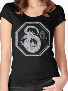 Chinese New Year of The Dragon Women's Fitted Scoop T-Shirt