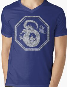 Chinese New Year of The Dragon Mens V-Neck T-Shirt