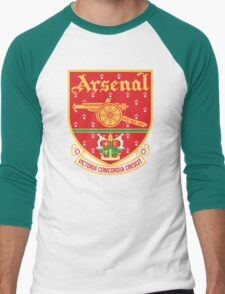 Arsenal FC Retro Men's Baseball ¾ T-Shirt