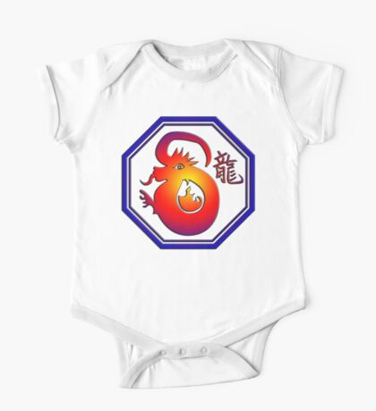 Chinese New Year of The Dragon One Piece - Short Sleeve
