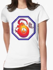 Chinese New Year of The Dragon Womens Fitted T-Shirt