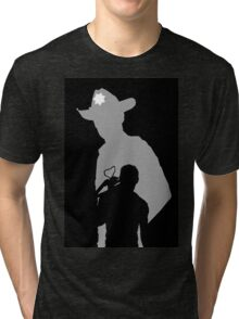 Rick and Daryl Tri-blend T-Shirt