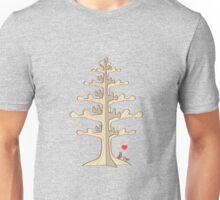 Paper Tree Lovebirds Unisex T-Shirt